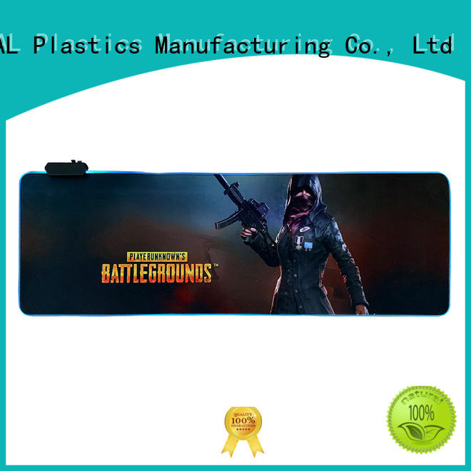 KAL aluminum rgb mouse pad get quote for gamer