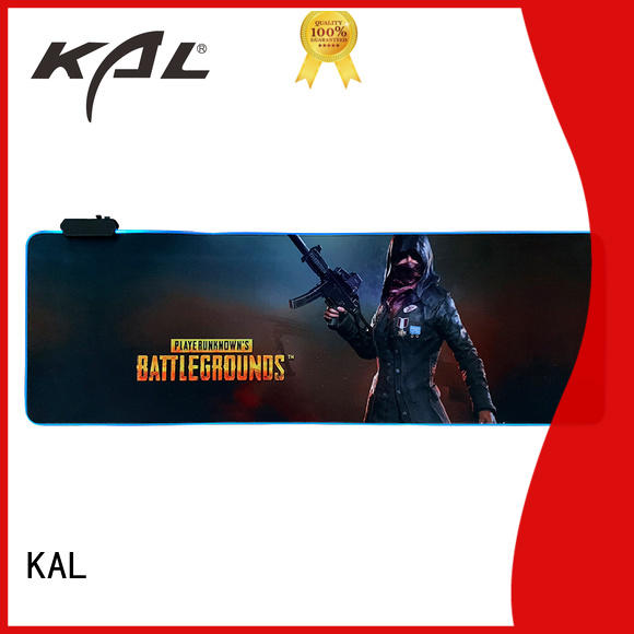 KAL solid mesh custom made mouse pad ODM for computer