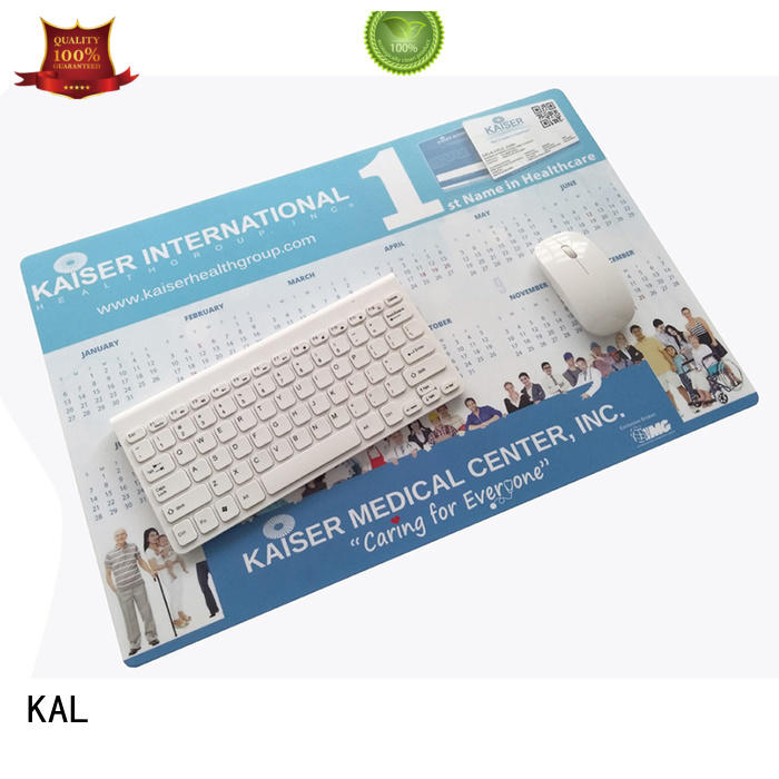 KAL foam hard mouse mat free sample for worker