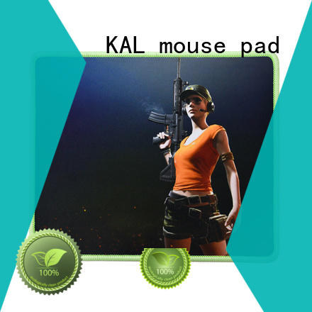 Wholesale rubber padmat best gaming mouse pad KAL Brand