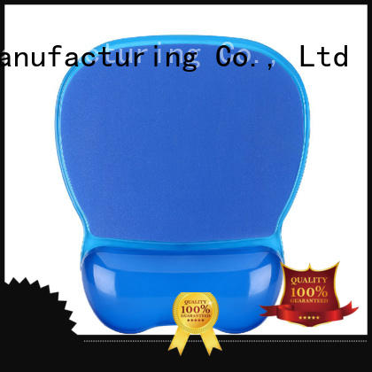 KAL blue mouse pad with wrist support buy now for worker