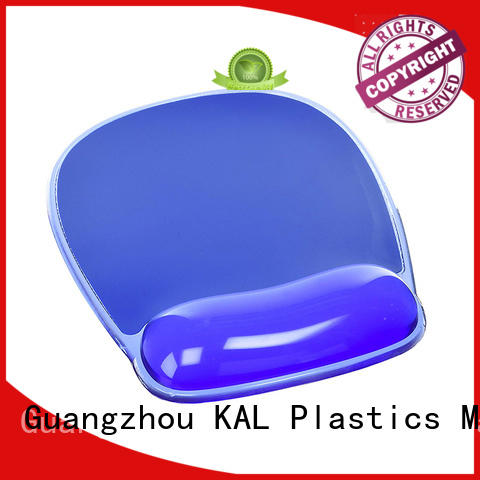 KAL high-quality mouse pad with wrist rest get quote for hands