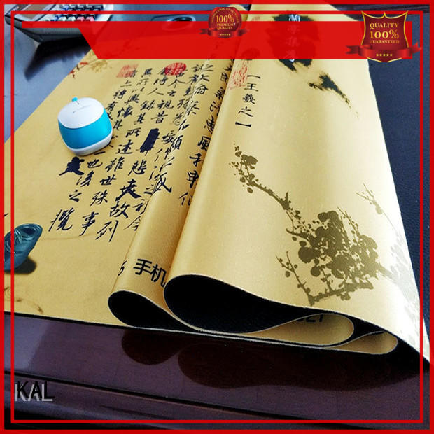 custom desk pad rubber base desk mat fabric top company
