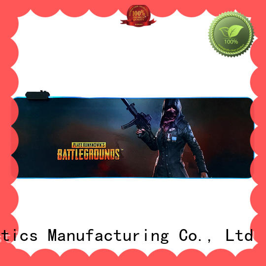 durable led mouse pads soft bulk production for gaming