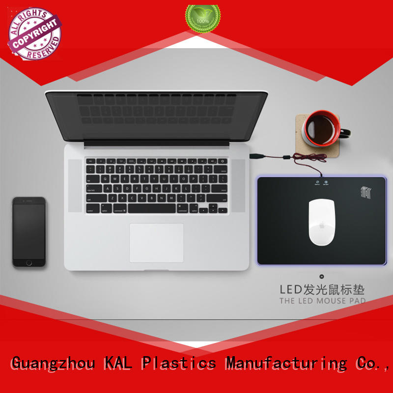 Breathable led mouse pads acrylic ODM for gamer