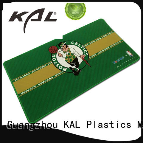 KAL printing flat mouse pads supplier for gamer