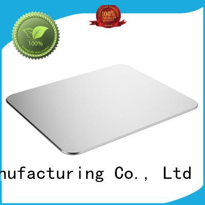 KAL portable best aluminum mouse pad quality for mouse