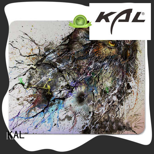 KAL Breathable hard mouse pad free sample for hands