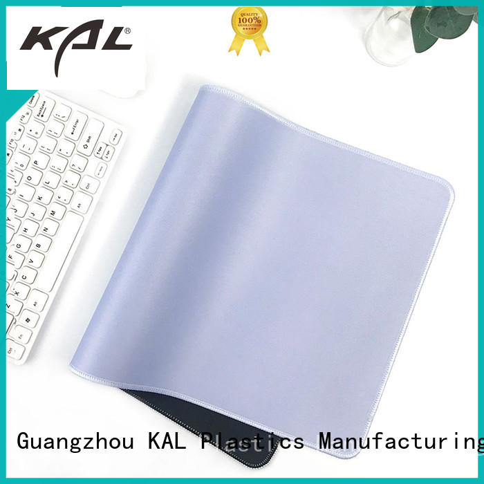 KAL portable flat mouse pads customization for gaming