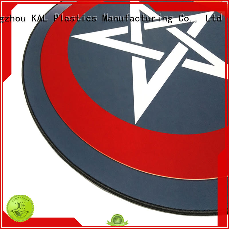 KAL durable Gaming chair floor mat bulk production for students