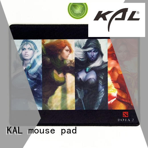 KAL Brand compute rest technique flat mouse pads manufacture