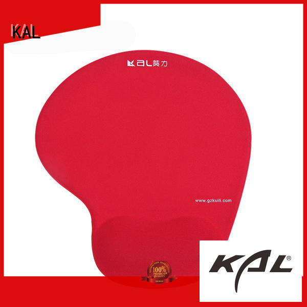 KAL on-sale mouse pad with gel wrist rest ODM