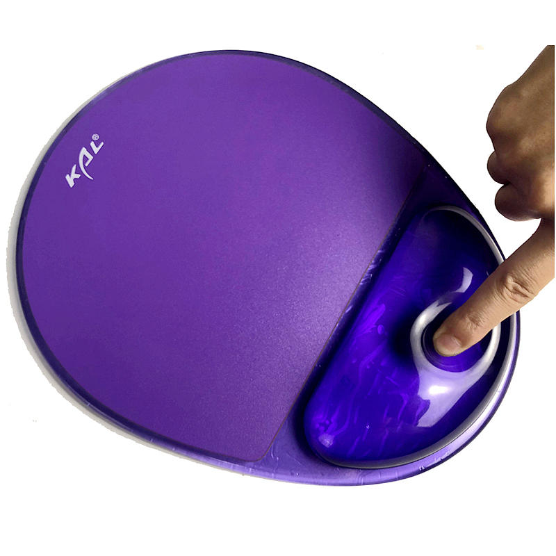 Transparent silicone wrist rest blank mouse pad Jelly hand support to relieves wrist pressure