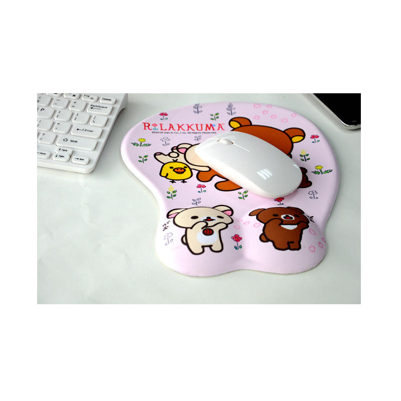 Anime 3D Ergonomic Soft Silicon Gel Mouse pad with Wrist Support