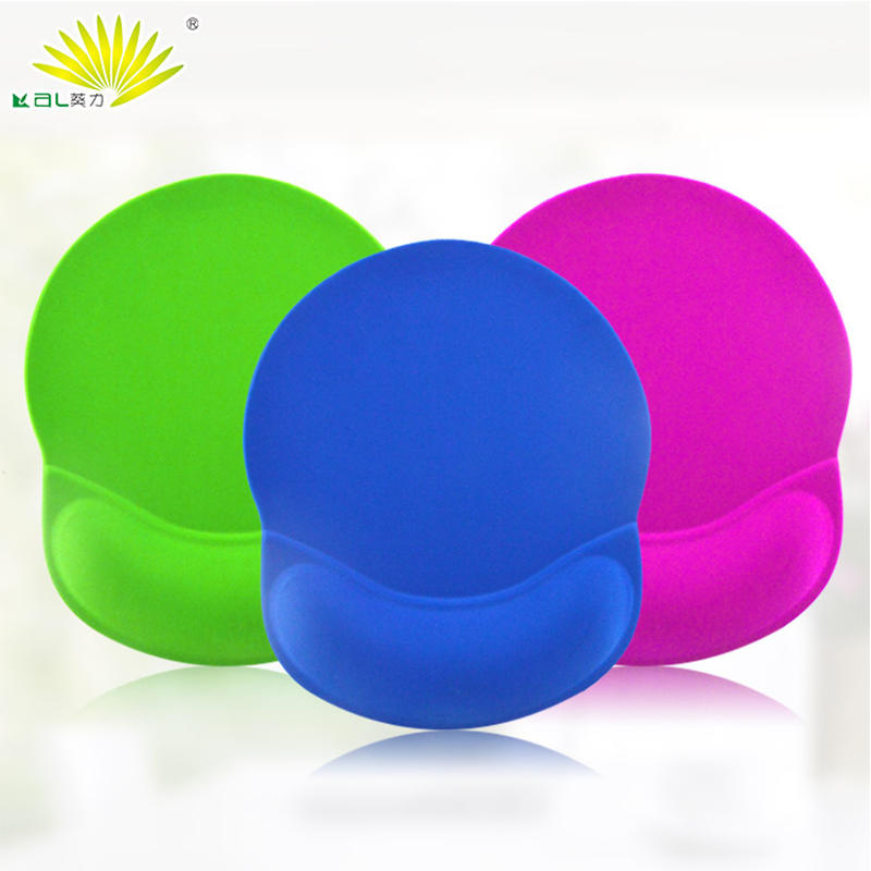 Novel design blank mouse pad Custom logo printing with hand support to relieves pressure