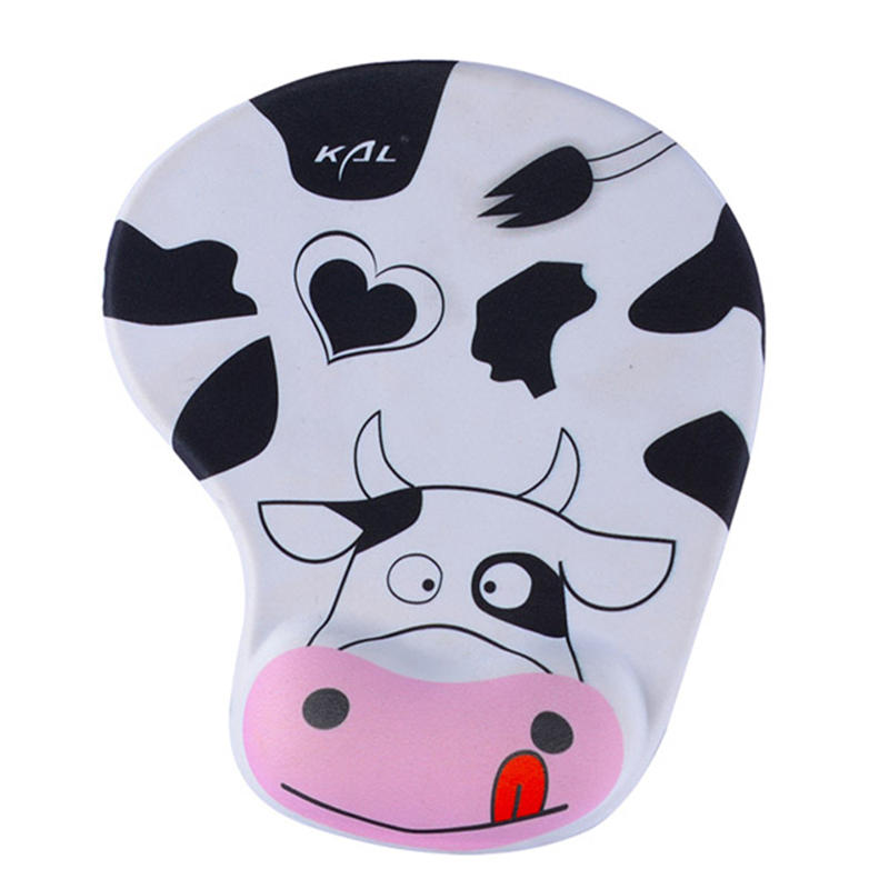 Dairy Cattle Office Mouse Pad The Young Girl Series gel comfortable mouse pad