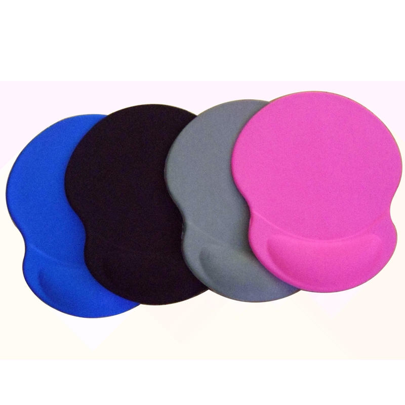 Custom Non-slip Design Ergonomic Promotional Gel Mouse Pad with Wrist Rest