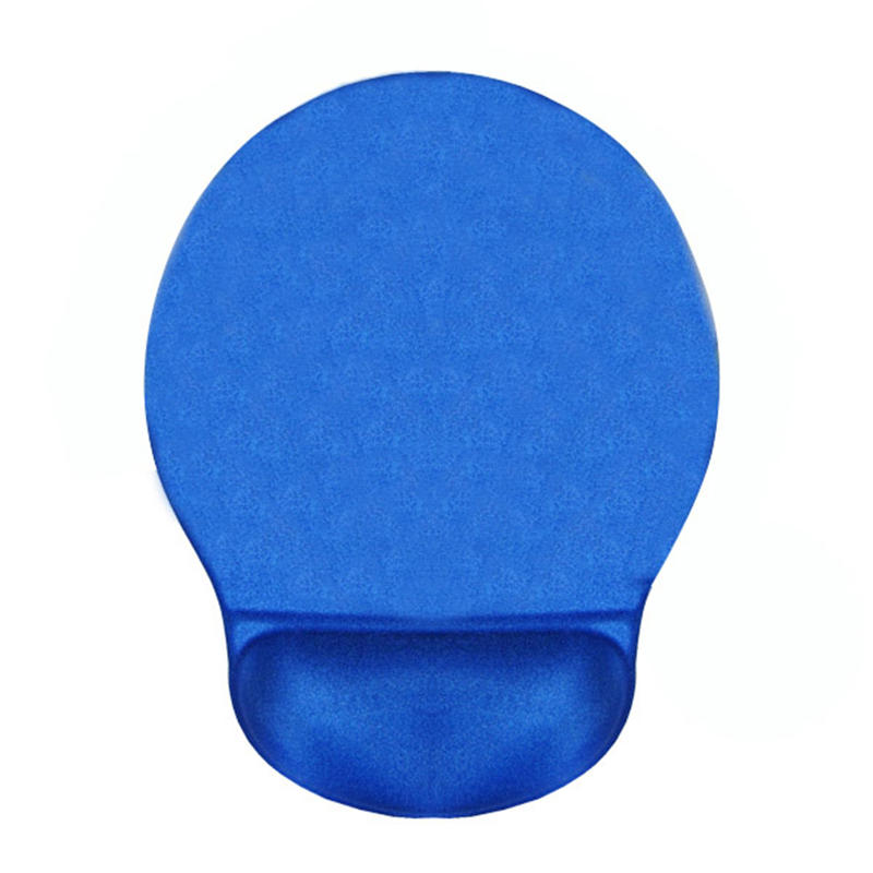 high quality custom full color printing rubber mouse pad with wrist rest