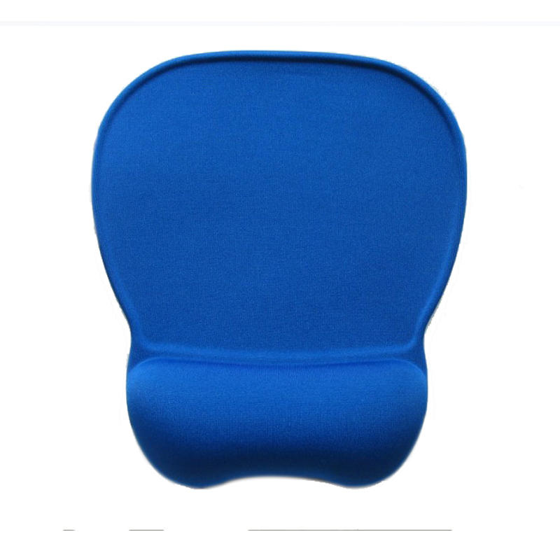 Comfortable hand pillow Memory Foam Silicone Mouse Pad With Wrist Rest Fabric Mouse Pad Manufacturer