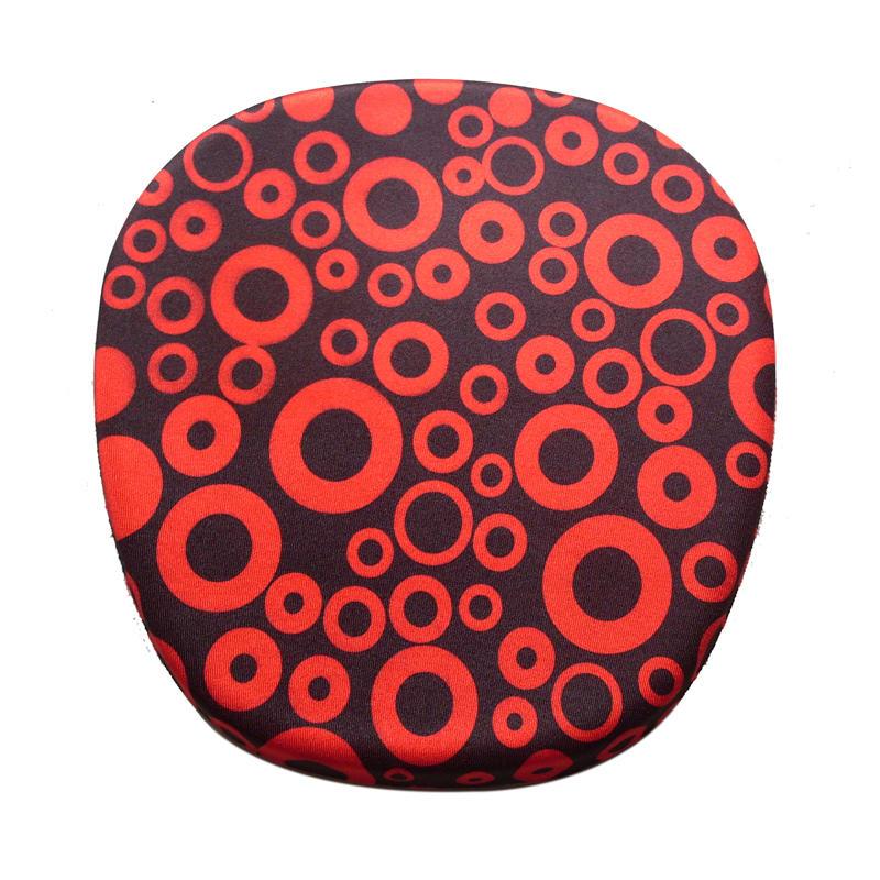 Ergo Flat Memory Foam Soft Mouse Pad Custom pattern design printing Big Size PU Base
