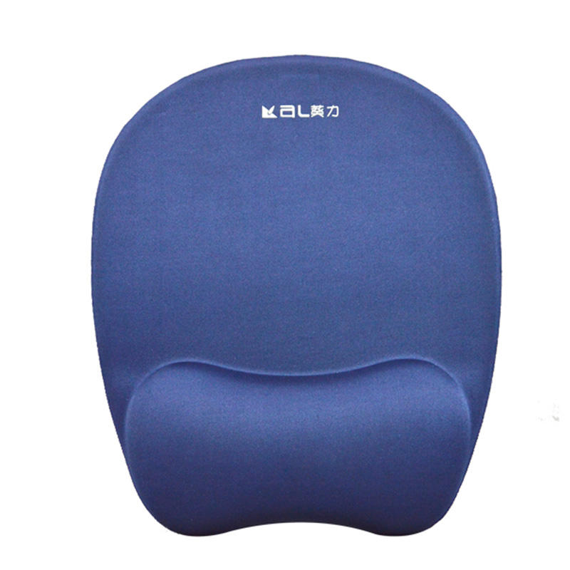 Best price comfortable and lightly Memory Foam Soft Mouse Pad  PU Bottom
