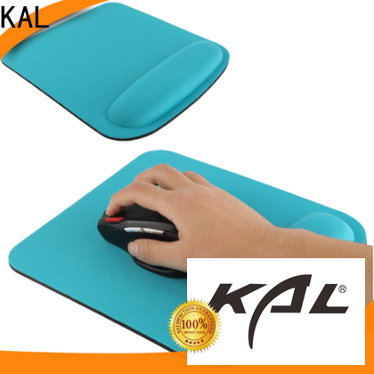 KAL product wrist rest mouse pads for wholesale office