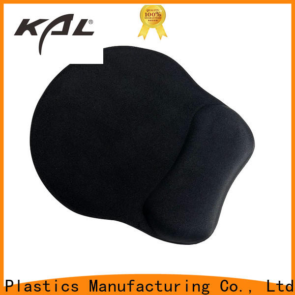 KAL logo mouse pad with gel wrist rest supplier workplace