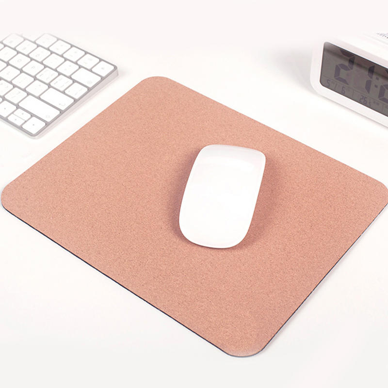 Cork portable mouse pad pollution-resistant environmental protection waterproof bendable simple fashion