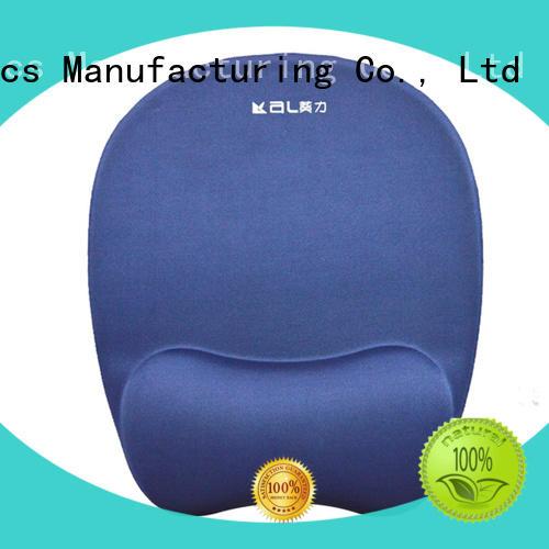 KAL foam memory foam mouse pad for wholesale for worker