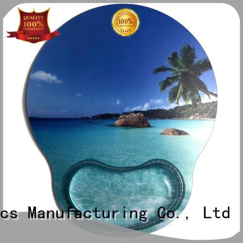 solid mesh transparent mouse pad bulk production