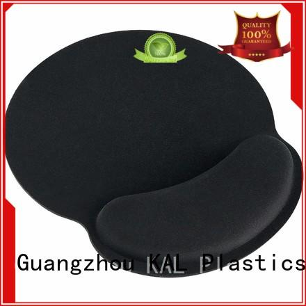 KAL solid mesh wrist rest mouse pads for wholesale computer