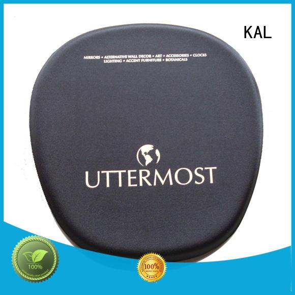 KAL bottom memory foam mouse pad bulk production for worker